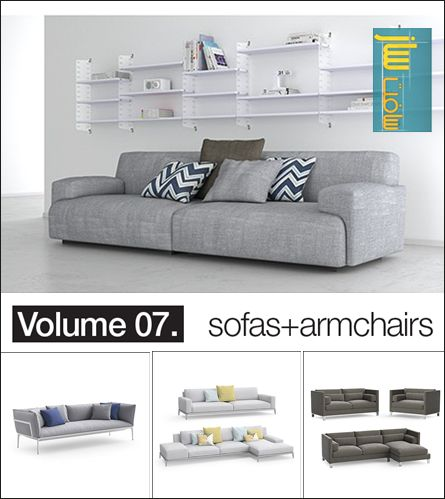 Model+model: Vol.07 Sofas+armchairs