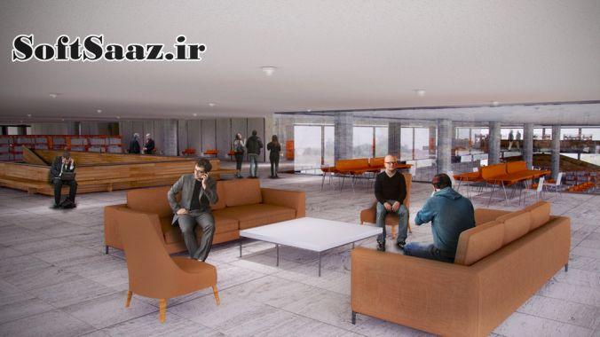 آموزش ایجاد صحنه داخلی در مقیاس بزرگ در CINEMA 4D