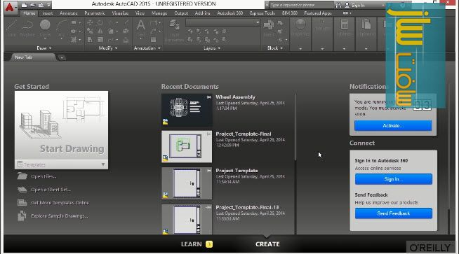 آموزش 11 ساعتی Autodesk AutoCAD 3D 2016