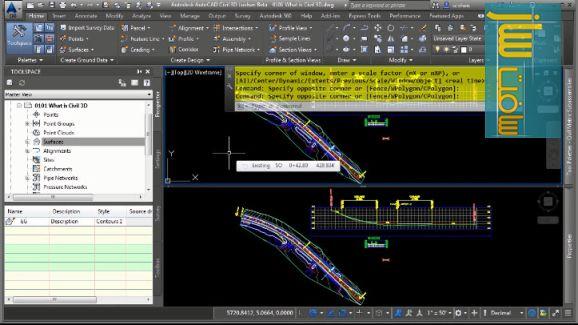 آموزش کامل 7 ساعتی AutoCAD Civil 3D 2016