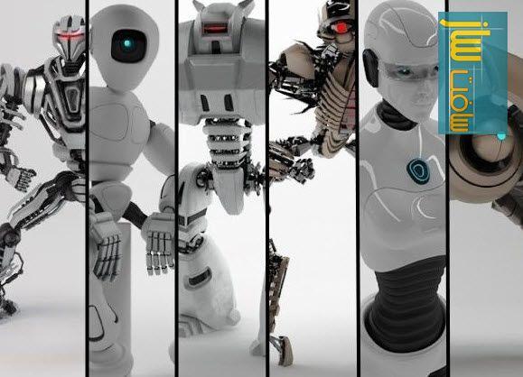کالکشنی از ربات های از شرکت Turbosquid