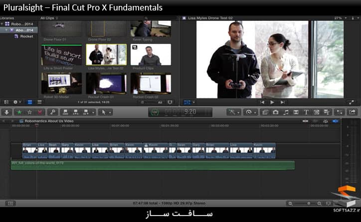 Pluralsight – Final Cut Pro X Fundamentals