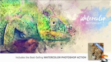 پلاگین Watercolor Motion Kit