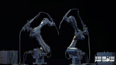 Photo of دانلود مجموعه کیت بش بازوی ربات صنعتی از cubebrush
