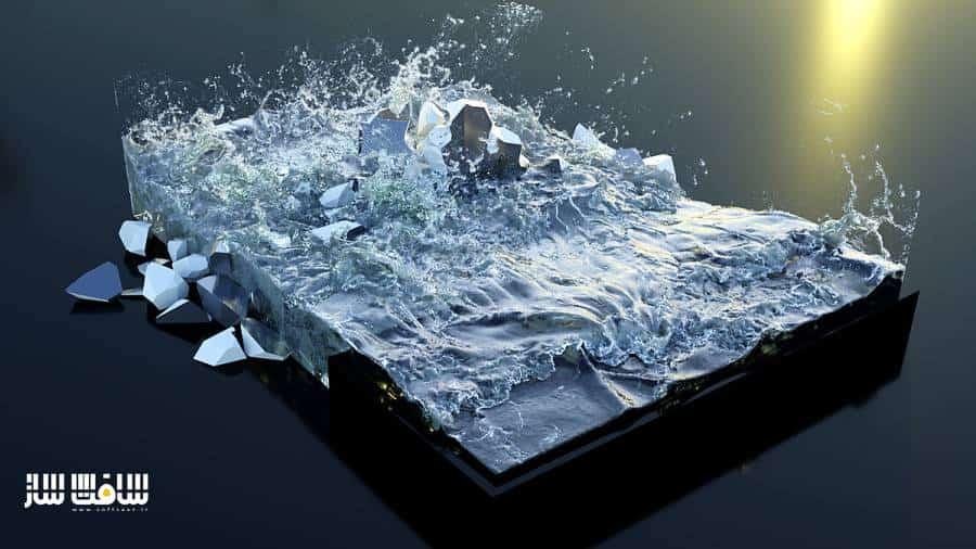 پلاگین FLIP Fluids ساخت سیالات برای بلندر