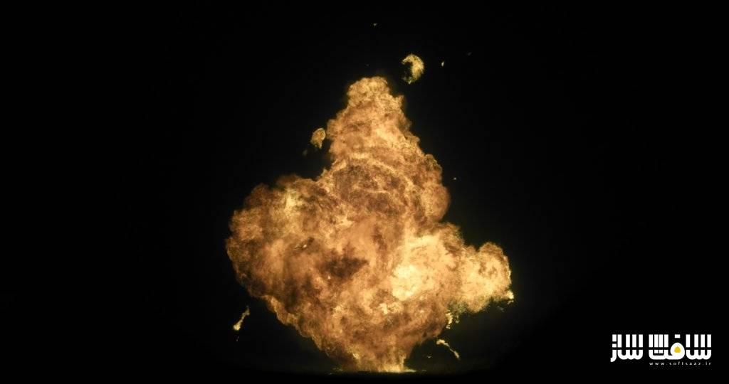 دانلود پکیج فوتیج آتش 4K برای شبیه سازی انفجار | سافت ساز