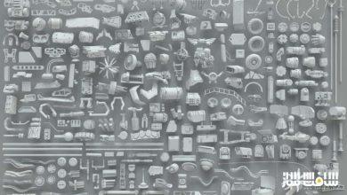 Photo of دانلود کالکشن کیت بش 268 نوع قطعات فلزی