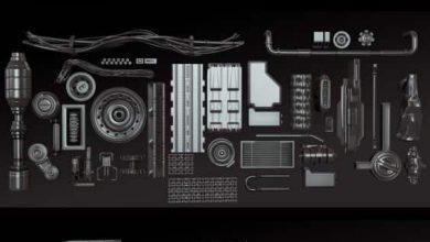 Photo of دانلود کالکشن 3 کیت بش قطعات فلزی