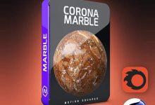 متریال های سنگ مرمر Corona