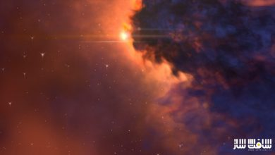 ایجاد افکت ستارگان کهشکان راه شیری با استفاده از Fumefx در 3dmax