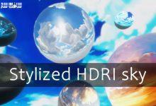 دانلود تصاویر HDRI آسمان با سبک خاص و کارتونی