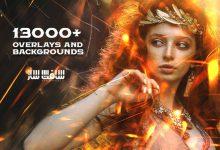 دانلود باند SuperMassive بیش از 13000 بک گراند و Overlays