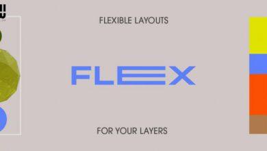 دانلود پلاگین Aescripts Flex برای افترافکت