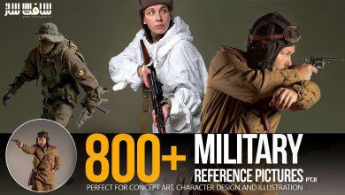 دانلود تصاویر رفرنس افراد نظامی