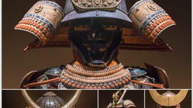 دانلود مجموعه تصاویر رفرنس زره پوش های سامورایی