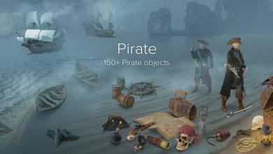 دانلود مجموعه تصاویر استوک دزدان دریایی