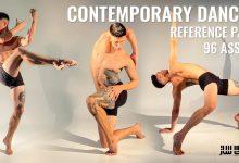 دانلود مجموعه تصاویر رفرنس کاراکتر مرد در حال رقص