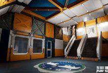 دانلود پروژه فضای داخلی پایگاه قطبی برای آنریل انجین