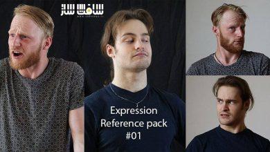دانلود پک تصاویر رفرنس اکسپرژن صورت برای احساسات مختلف