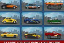 دانلود پروژه 2d cars برای یونیتی