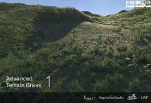 دانلود پروژه Advanced Terrain Grass برای یونیتی