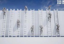 دانلود پکیج انیمیشن بالا رفتن از نردبان برای آنریل انجین