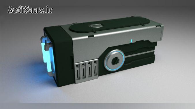 Digital-Tutors – Designing and Modeling a Sci-Fi Prop in Blender