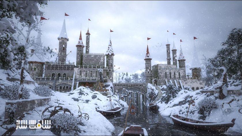 ساخت مدل قلعه