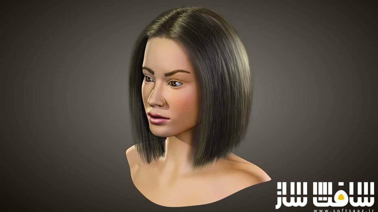 آموزش طراحی مو واقعی در 3ds Max و Hair Farm