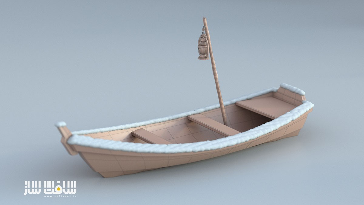 مدل کردن قایق