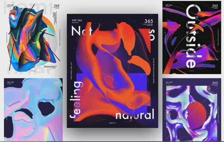 طراحی پوستر در فتوشاپ