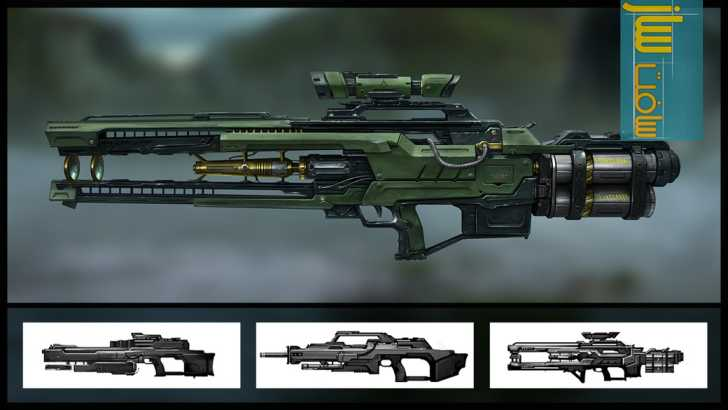 Digital-Tutors – Designing Gun Concepts for First Person Shooters in Maya and Photoshop