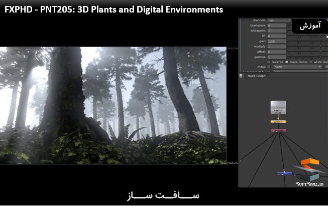 آموزش 3D Plant