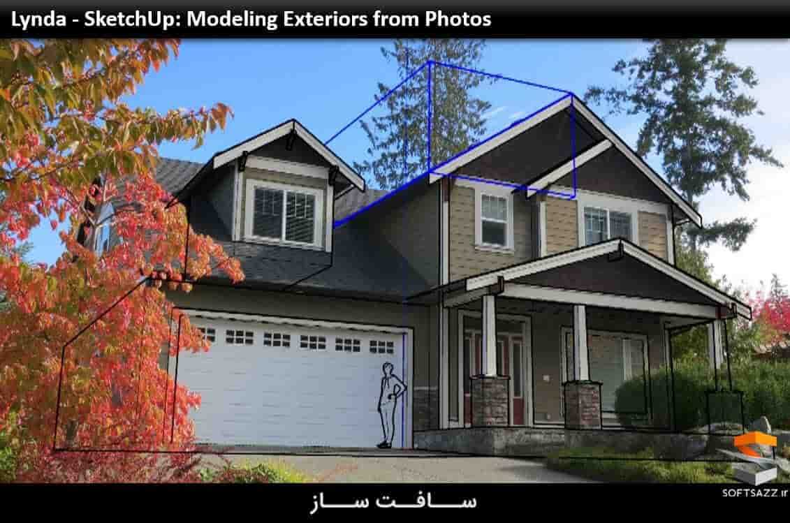 Lynda - SketchUp: Modeling Exteriors from Photos