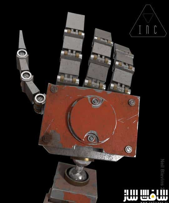 Gumroad – Texturing A Robot Hand by Neil Blevins