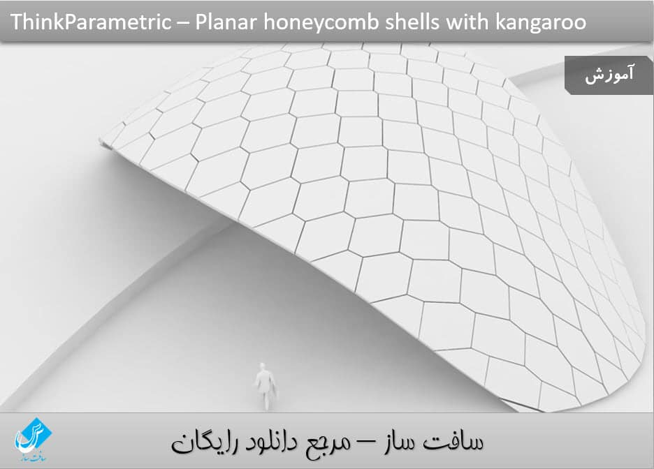 Planar Honeycomb Shells with Kangaroo