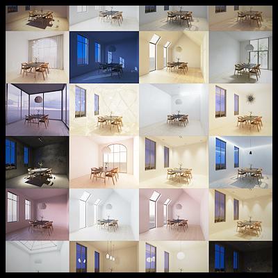 Viscorbel – Vray Interior Lighting