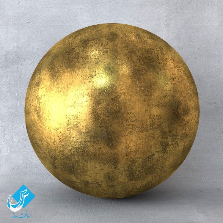 دانلود متریال طلا