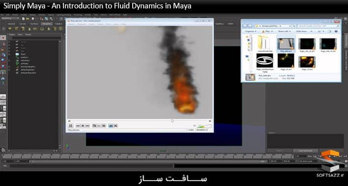 Simply Maya - An Introduction to Fluid Dynamics in Maya