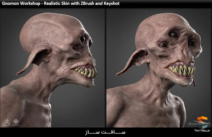 Gnomon Workshop - Realistic Skin with ZBrush and Keyshot