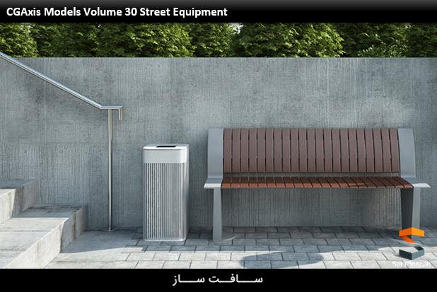 CGAxis Models Volume 30 Street Equipment