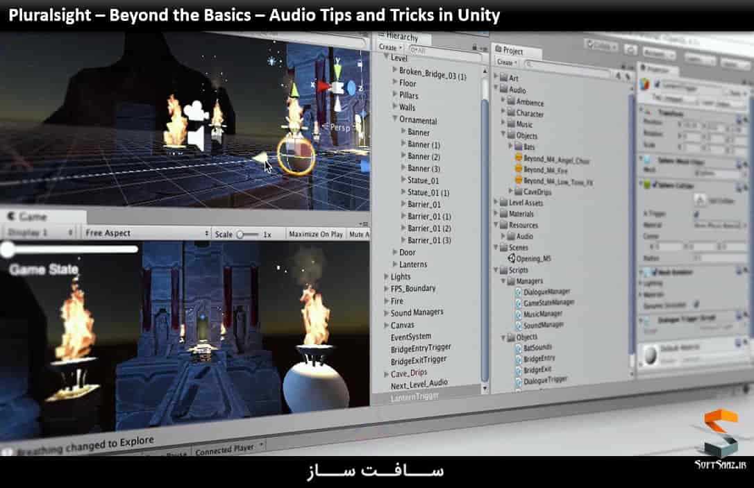 Pluralsight – Beyond the Basics – Audio Tips and Tricks in Unity
