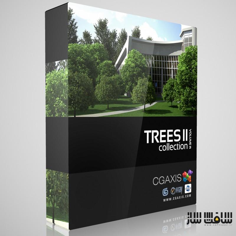 مدل درختان از CGAXIS