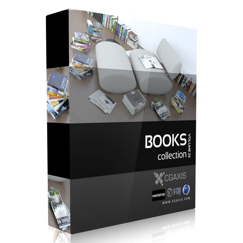مدلهای کتاب و مجلات از CGAXIS