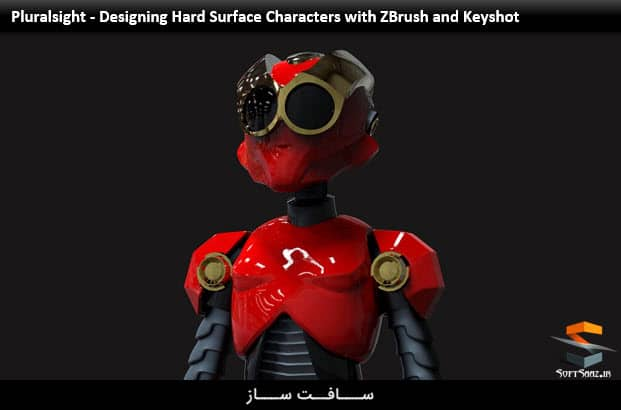 Pluralsight - Designing Hard Surface Characters with ZBrush and Keyshot